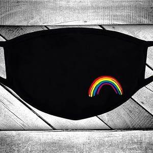 LGBT RAINBOW MASK