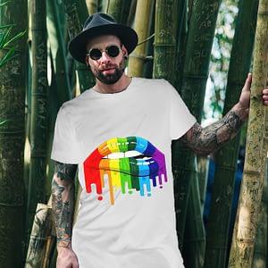 Bisexual Lips T-shirt