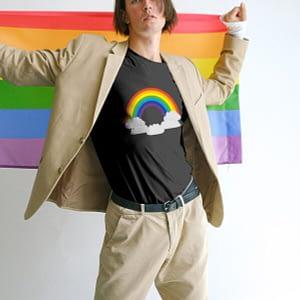 Bisexual Rainbow T-shirt