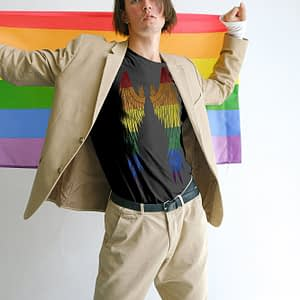 Bisexual Wings T-shirt