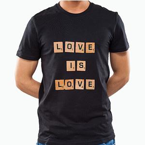 PRIDE Love is Love Blocks T-shirts