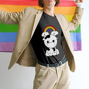 PRIDE Cow T-shirt