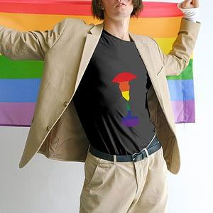 PRIDE Kissing Earth T-shirt