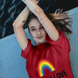 PRIDE Love is Love T-shirt