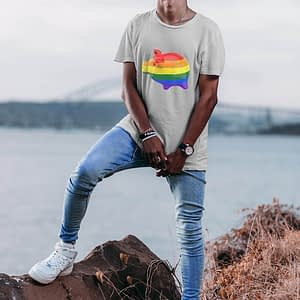 PRIDE Rainbow Pig T-shirt