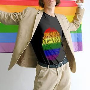 Pride Fingerprint T-shirt