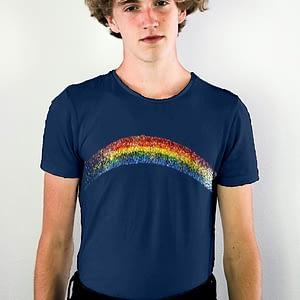 Pride Glitter Rainbow T-shirt