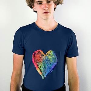 Pride Powder Heart T-shirt
