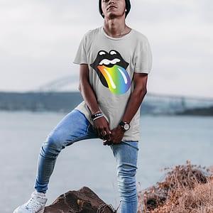 Pride Rainbow Tongue T-shirt