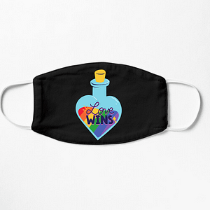 LGBT Lovewins Mask