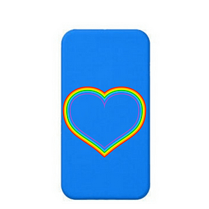 LGBT Heart Phone Cover