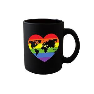 LGBT World Heart Mug