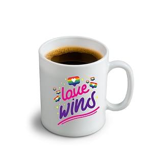 LGBT Love Wins Mug