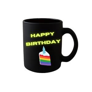 LGBT Happy Birthday Mug