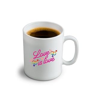 LGBT Love is Love Mug