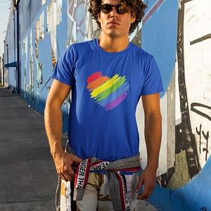 LGBT Heart Tshirt