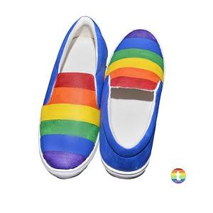 Multi Color LGBT Shoes