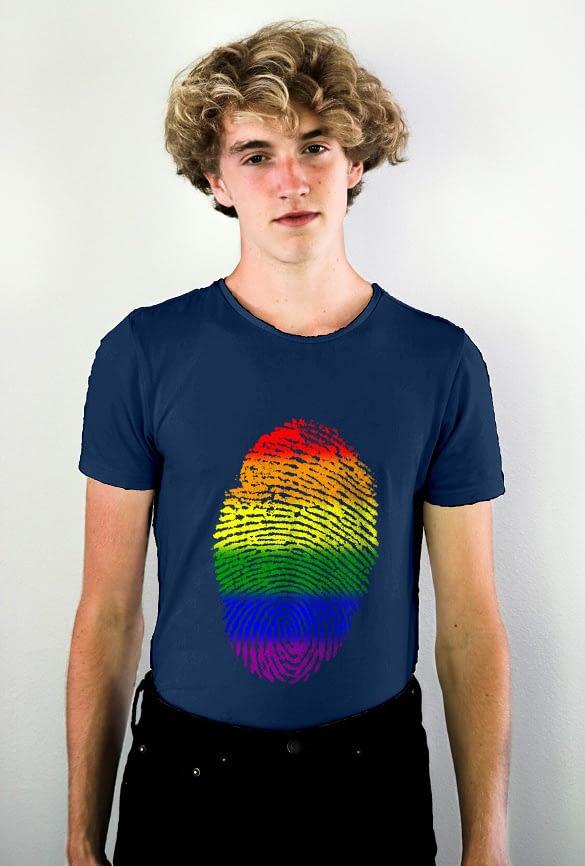 Pride Fingerprint T-shirt-4