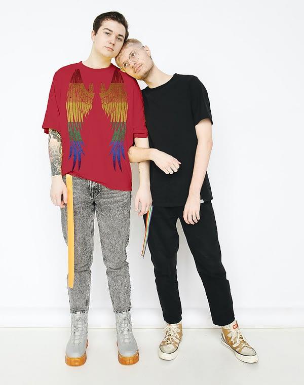 Bisexual-wings-T-shirt -2
